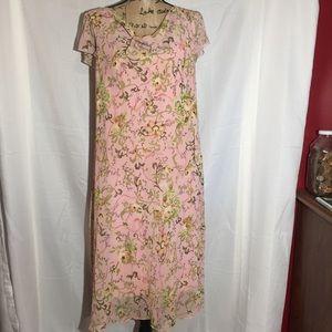 Sangria spring dress